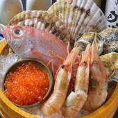 鮮魚の〆物