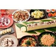 季節それぞれの旬の食材を使用したランチ・ディナーブッフェをご用意しております。グランドエールで旬の味覚をお愉しみください。
