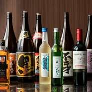 ビールや日本酒、ウイスキーや焼酎など取り揃えております。2時間の飲み放題でお好きなドリンクをお好きなだけご堪能ください。
