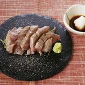牛赤身のこぼれ肉寿司