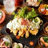 【贅コース】熟成ローストビーフや銘柄「美桜」を堪能 3H飲み放題&10品 4480円⇒3480円