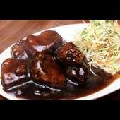 黒酢入り角煮
