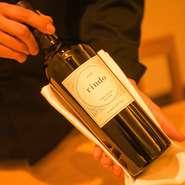 ソムリエが厳選するワインは、料理に合うことを重視して幅広い産地から取り揃えているそうです。ワイン×料理の絶妙なハーモニーをより深く味わいたい方には、6月から提供のワインペアリングもあります。