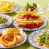 海外旅行気分を楽しめる『メキシコ料理各種』