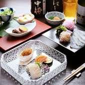 全国の旬食材を吟味し、新しさと驚きに満ちる本格和食を紡ぐ