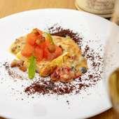 特別感がある料理と空間で、アニバーサリーディナーを大満喫!