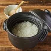 こだわり炊き立て銀シャリ土鍋
