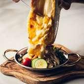 ラクレットチーズと三浦野菜のオーブン焼き