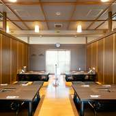 個室は最大32名まで利用可。イベントに嬉しいコースもあり