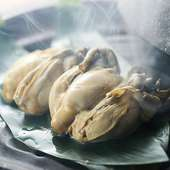 牡蠣の燻製スモーキー