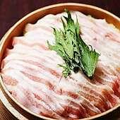 特選豚バラとおろし大根の出汁蒸篭蒸し 2~3人前