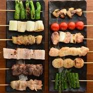 野菜をふんだんに使用したメニューも数多くご用意。他にもコラーゲンたっぷりのもつ鍋等が大人気。