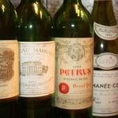 お好みのワイン、最高級のお肉に存分に酔いしれてください・・・
