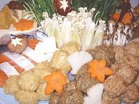 真寿美の人気の鍋メニューからお好みを選べる飲み放題付きコースです!