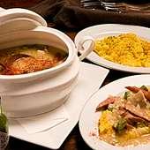 アメリカ南部のスープ料理をアレンジしたオリジナルのガンボ