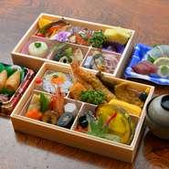 法要料理は、3種類から選ぶことができます。さらに、プラスαで刺身をオーダーしたいときにもアレンジが可能。親戚や友人が集まり故人を偲ぶ、大切なひと時にふさわしい充実した内容です。