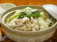 味噌味から透明感のあるシャンタンスープにリニューアル。さっぱりとしながらもコクがあると早くも人気のお鍋。〆のラーメンも欠かせません。(一人鍋)