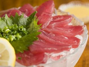 枕崎の名物「鰹(かつお)」をいろいろな料理で提供