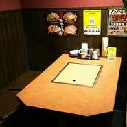 テーブル席 2~4名様