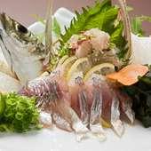 瀬戸内の新鮮活魚がリーズナブル価格