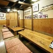 戸板で仕切りができる個室席は女子会・合コン・接待にもおすすめ