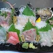 美味しい江戸前の魚が食べられる店