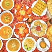 本場スタッフが調理する本格インド料理のお店