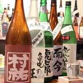 日本酒も県内外よりご用意しております