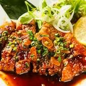 鹿児島から直送される豚肉を堪能『霧島黒豚のトンテキ』