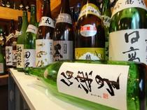 厳選の焼酎&日本酒&十数種類の梅酒ご用意しております!