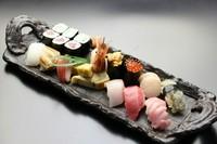 新鮮なネタに定評のあるお寿司