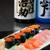 生にぎり寿司