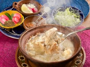 メキシコの伝統文化料理『ポソレ』栄養満点、母の味です