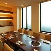 テーブル個室、お座敷個室もございます!