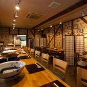 くつろげる店内で、津軽の味をお楽しみ頂けます!