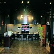 平成19年に大阪府照明コンクール、大阪府知事奨励賞を受賞したお店です。