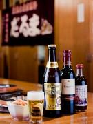 当店は生ビールと瓶ビールを扱っています