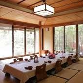接待・会食・宴会など個室をご用意しております。