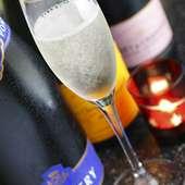 大切な日にはシャンパンで乾杯を・・・