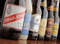輸入ビールも豊富にございます。