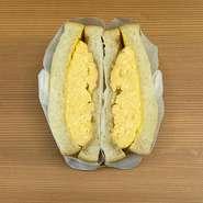 出汁の味を優しく感じられるふわふわの玉子サンド