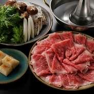 しゃぶしゃぶもお料理も楽しみたい欲張りな方に!!   驚きの質とボリューム! -3名様より-