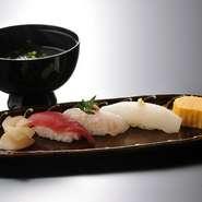 ★お顔合わせに一番人気 〆はお寿司で 満足度↑