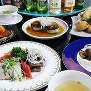お好きな中華料理が選べて、お昼はお一人様1800円~夜は2000円~(税込)ご用意してます。 デザートサービス(クーポン参照)もしております。 女子会やママ会に是非お使いください。