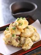 レバーの天ぷら