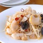マツブ貝の特製ネギ味