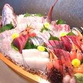 舟盛り・大漁