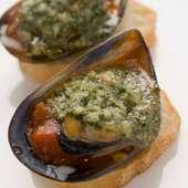 ムール貝のオーブン焼