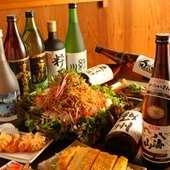 生ビール・焼酎・日本酒(八海山)も多数揃っております