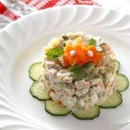 """Potato salad """"OLIVIE"""""""